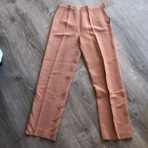 MaxMara peach pants